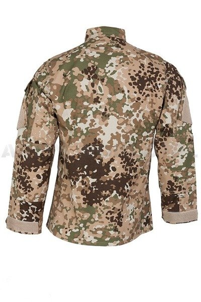 Military Shirt FLECK-ARID- German Multicam Ripstop New