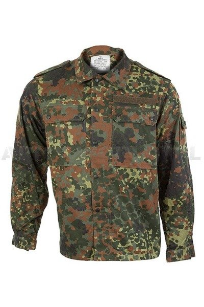 Military Shirt Flecktarn Bundeswehr BW ASG Paintball Original New