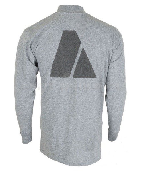 Military Shirt Long Sleeves US Army FITNESS UNIFORM Grey Demobil