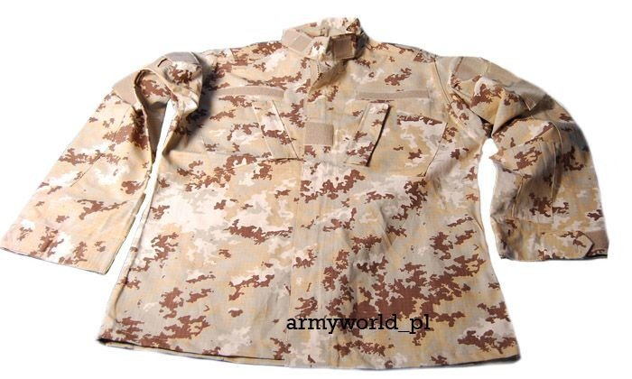 Military Shirt Model ACU TESSAR Vegetato Desert Ripstop New