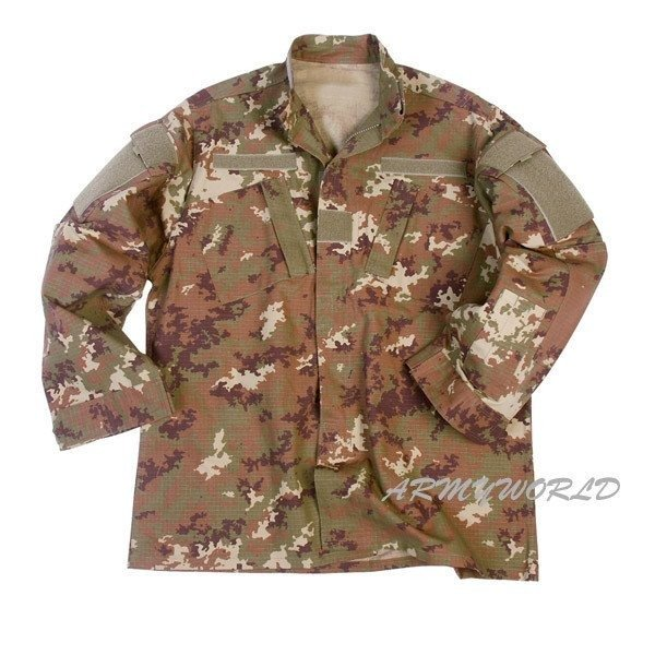 Military Shirt Model ACU TESSAR Vegetato Ripstop New