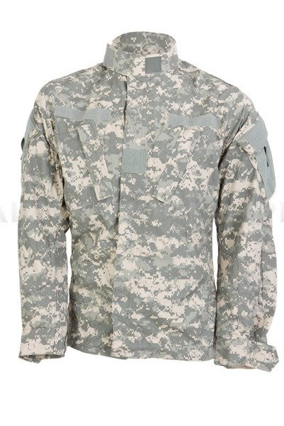 Military Shirt US Army ACU AT-DIGITAL Ripstop Original New