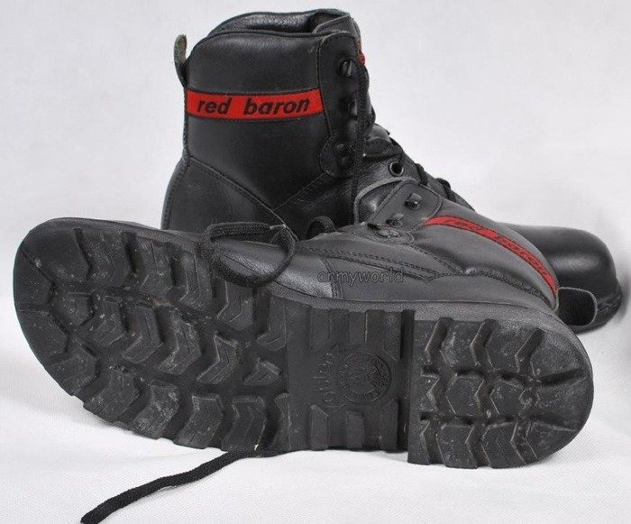 Military Shoes RED BARON S3 with Metal Tips Original Demobil