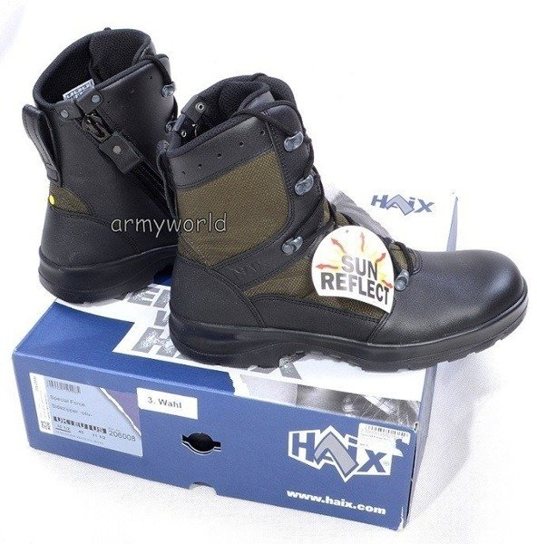 Military Shoes Special Forces Haix Original Oliv III Quality