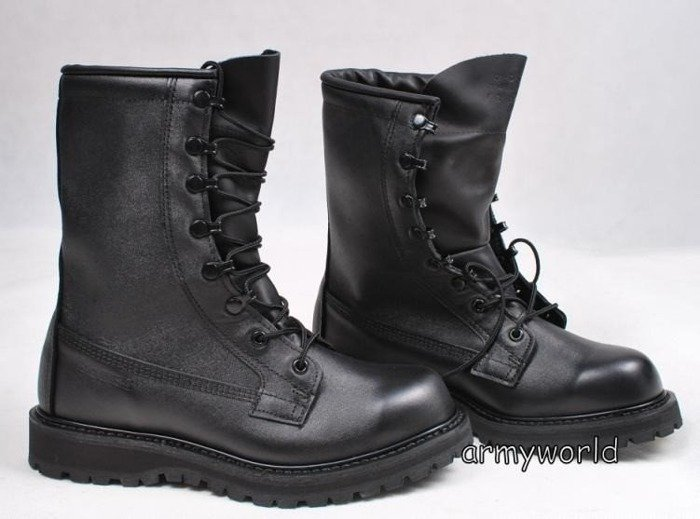 Military Shoes US Army Leather Cold Weather Goretex Warmed New