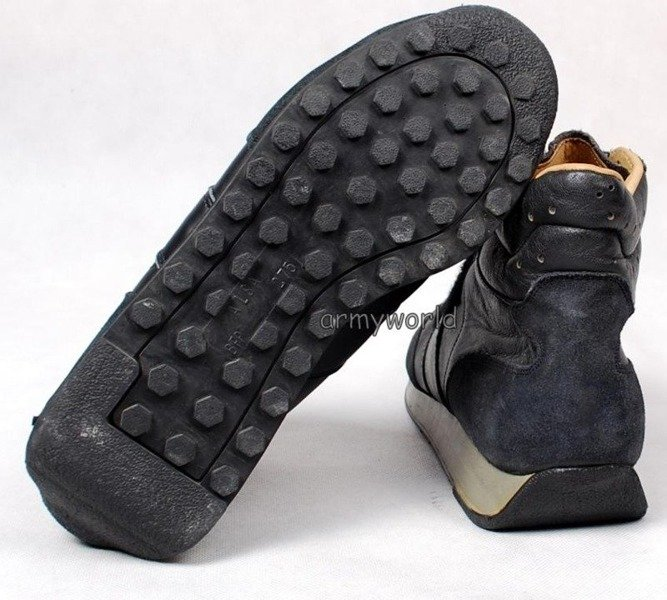 Military Shoes of Aviation Service Bundeswehr With Velcro Original Older Version New