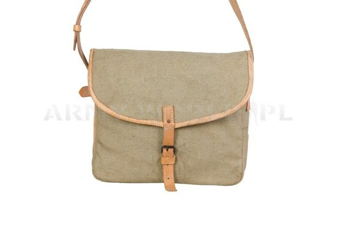 Military Shoulder Bag Czech Army Oliv Original Used