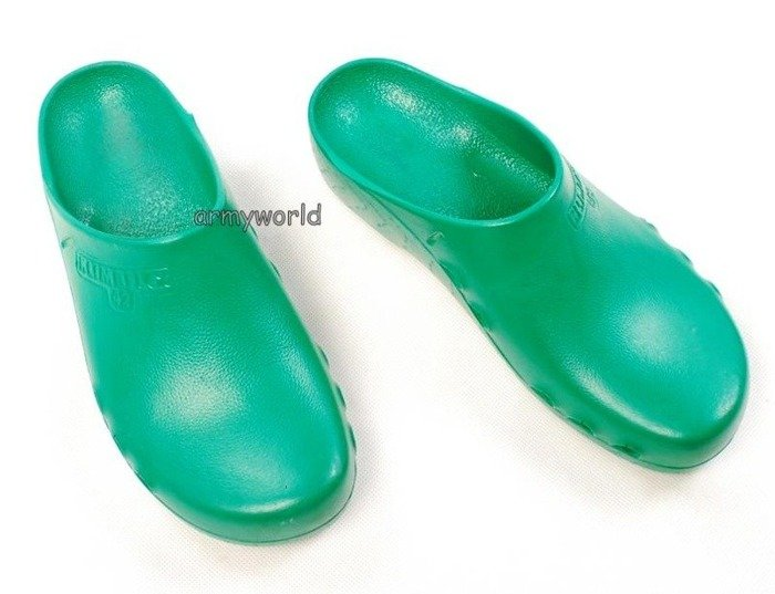 Military Shower flip-flops Bundeswehr Green Klimaflex Original Demobil