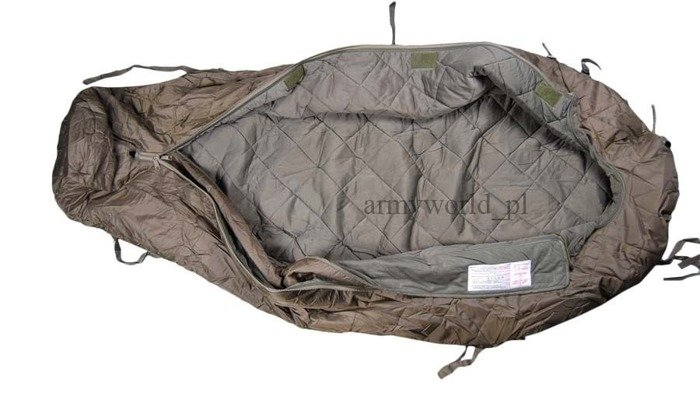 Military Sleepieng Bag Bundeswehr Mummy Type Original New With Rubber Case