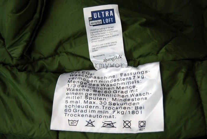 Military Sleeping Bag AJUNGILAK Special Forces KSK Original Demobil