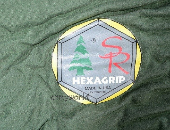 Military Sleeping Mat HEXAGRIP Green Original Demobil
