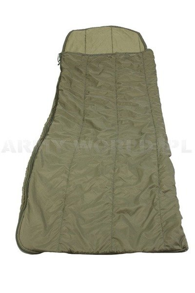 Military Summer British Sleeping Bag Warm Weather Original Oliv Demobil