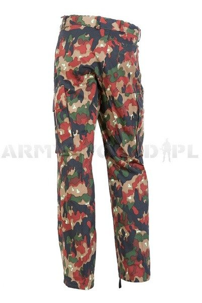 Military Swiss Trousers TASS 57 Original Demobil