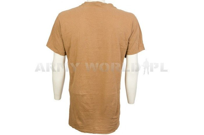 Military T-shirt Brown Used