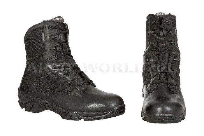 Military Tactical Shoes BATES Gore-Tex Black Original Demobil Very Good Condition