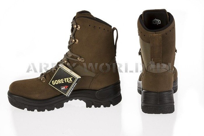 Military Tactical Shoes Haix P9 Oliv Gore-tex Original New II Quality