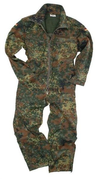 Military Tactical Tankman Suit Overalls Flecktarn Bundeswehr Paintball ASG New