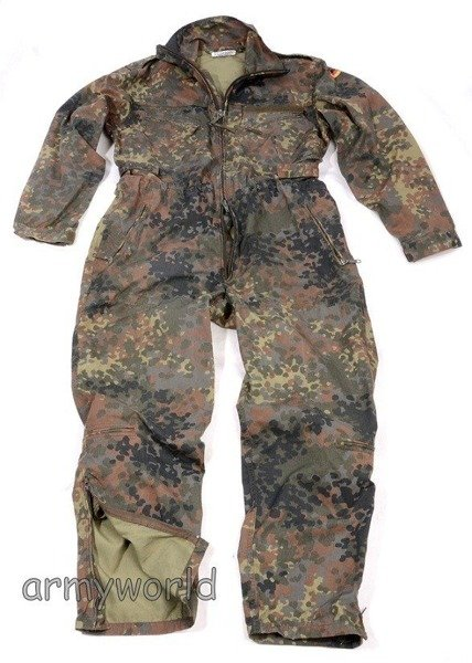 Military Tankman Suit Flecktarn Bundeswehr New Model Aramid Demobil