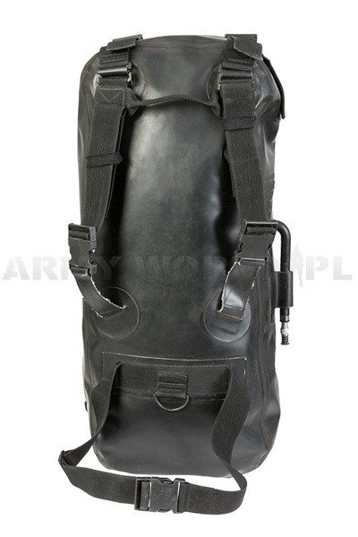 Military Trasportation Bag Rubberised Green 58 x 18 cm Original Demobil
