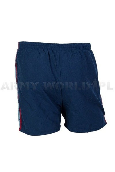 Military Trening Shorts Danish Dark Blue Original New
