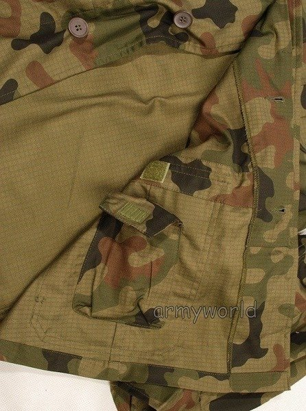 Military Tropical Field Shirt 93 124 Z / MON New