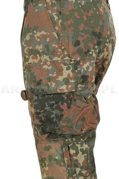 Military Trousers Aramid KSK Special Forces Bundeswehr To The Waist Flecktarn Original Used