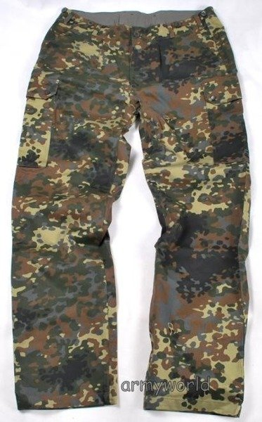 Military Trousers Cargo Pants Bundes Flecktarn New