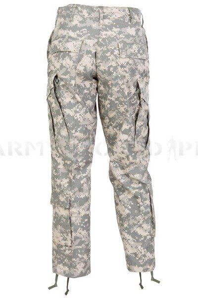 Military Trousers US Army ACU AT-DIGITAL Flame-retendant Original New