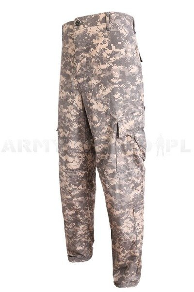 Military Trousers US Army ACU AT-DIGITAL Original Demobil