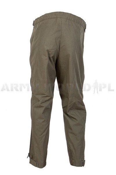 Military Trousers Warmed With Fur Waterproof Original New
