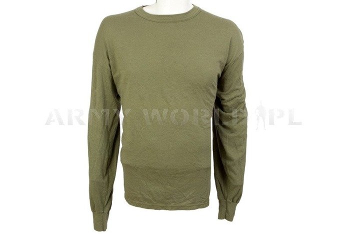 Military Undershirt Olive Oryginal Used