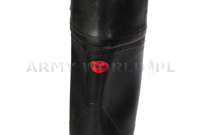 Military Waders Hevea Rubber Boots Black Original New