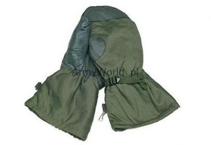 Military Warmed Gloves Gore-tex Bundeswehr Original Demobil