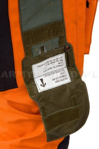 Military Waterproof Coverall  Survival One Gore-tex Original Used Sufficient Condition