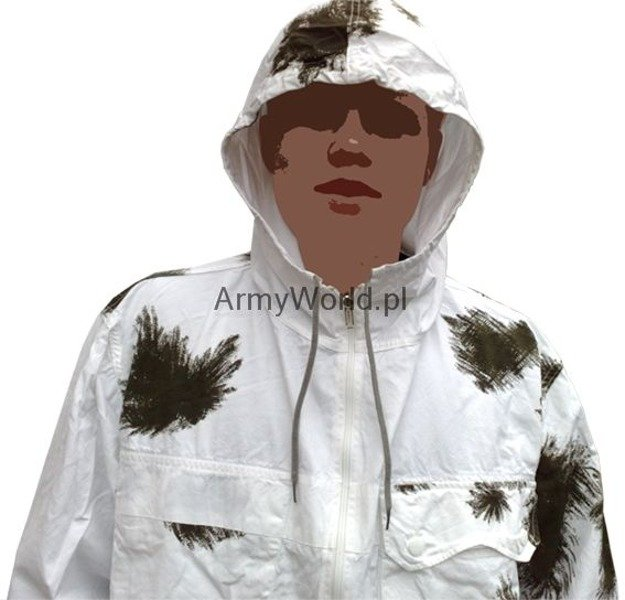Military Winter Jakcet Bundeswehr Masking Reversible Jacket Original Demobil