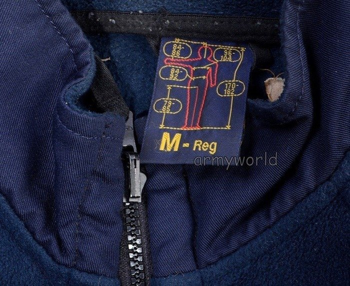 Military Working Fleece Jacket SNICKERS Dark Blue Original Demobil