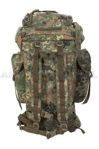 Military backpack 65L Flecktarn BW Bundeswehr Original Cordura Military Surplus Used