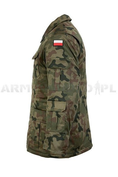 Military jacket with liner Polish Wz.130/MON Original - New - in WZ93 camouflage