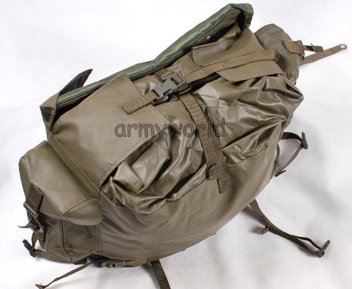 Military swiss Mountain Backpack Model M90 Rubber Original New Set Of 5 Pieces