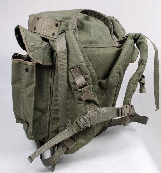 Militay Dutch Backpack 35 liters Oliv Original Demobil