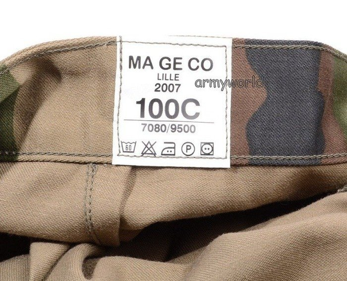 Mlitary French Trousers CCE Original Demobil