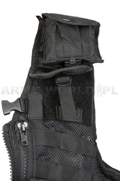 Modular Tactical Vest PAINTBALL Mil-Tec Black New