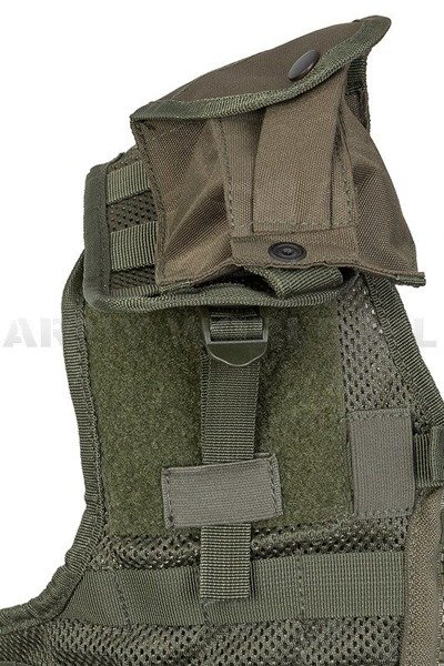 Modular Tactical Vest PAINTBALL Mil-Tec Oliv New