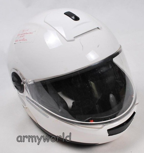 Motorcycle Protective Helmet Schuberth German Police Original Demobil Very Good Condition
