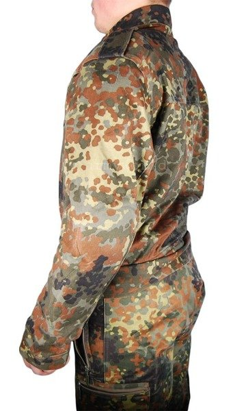 Motorcycle Suit Kard Two-pieces Flecktarn With Protective Pads Original Demobil