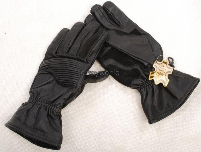 Motorcycle Tactical Leather Gloves Warmed Dutch New