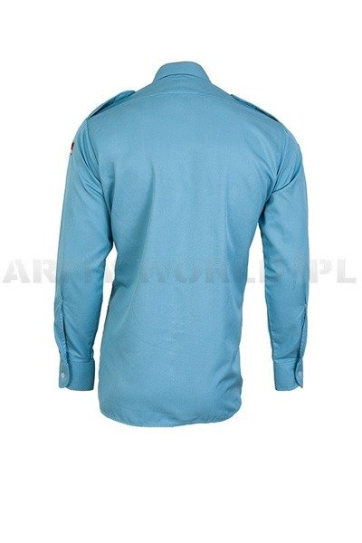 Navy Shirt Bundeswehr With Long Sleeves Blue Demobil Set of 10 pieces