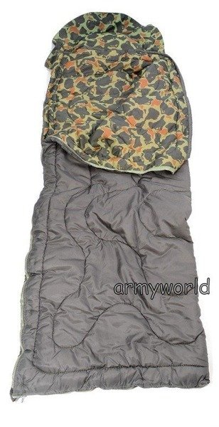 Officer's Sleeping Bag Polish Military LWP T Quilt Type Original Used