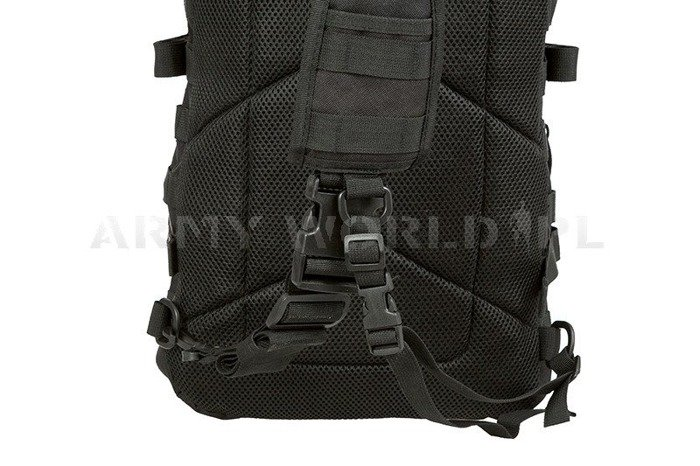 One Strap Backpack US Assault Pack LG Black New