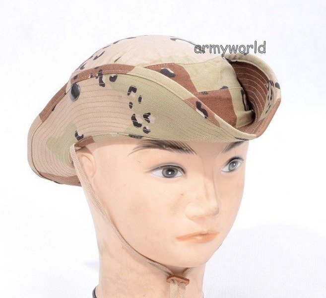 Original Desert Hat US ARMY 6-Color New